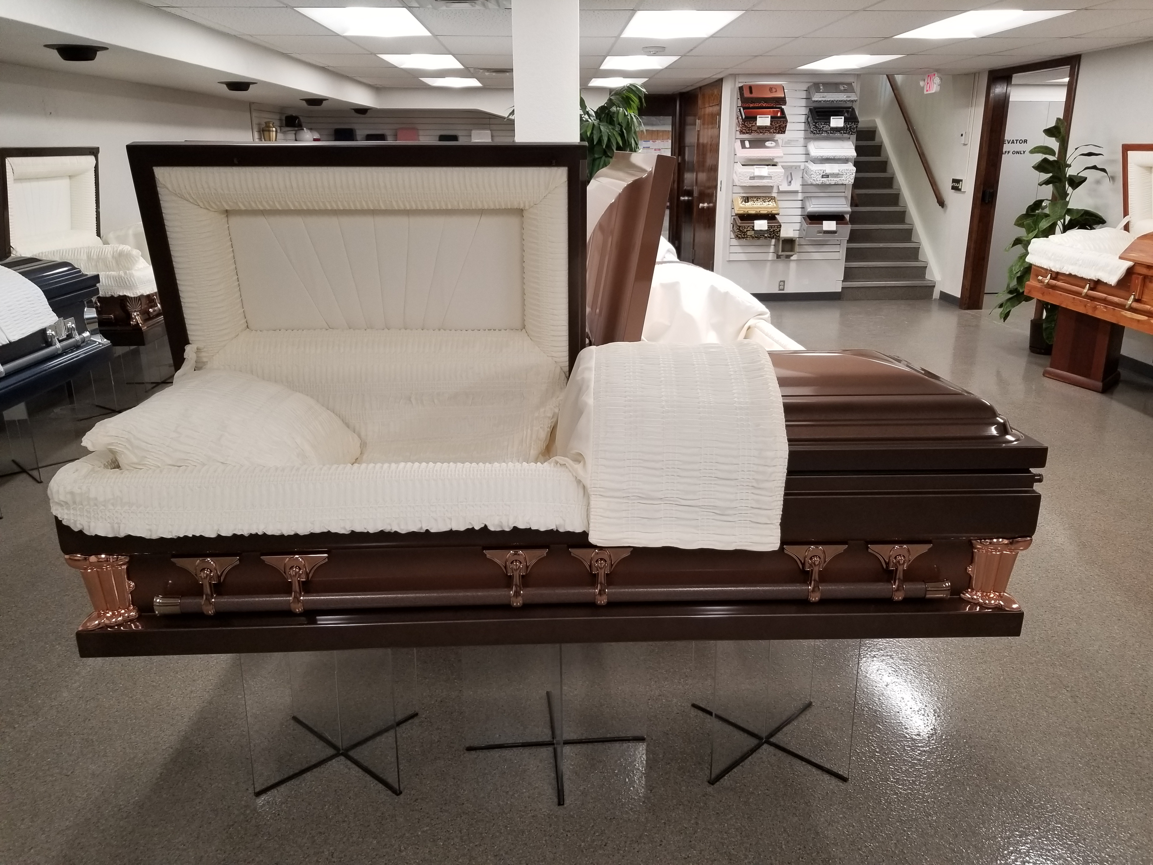 Range Funeral Homes Product Showroom